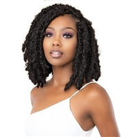 Glamourtress, wigs, weaves, braids, half wigs, full cap, hair, lace front, hair extension, nicki minaj style, Brazilian hair, crochet, hairdo, wig tape, remy hair, Janet Collection Nala Tress Crochet Braid - BUTTERFLY LOCS 12