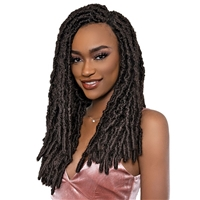 Glamourtress, wigs, weaves, braids, half wigs, full cap, hair, lace front, hair extension, nicki minaj style, Brazilian hair, crochet, hairdo, wig tape, remy hair, Janet Collection Nala Tress Crochet Braid - POETRY LOCS 18