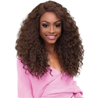 Glamourtress, wigs, weaves, braids, half wigs, full cap, hair, lace front, hair extension, nicki minaj style, Brazilian hair, crochet, hairdo, wig tape, remy hair, Janet Collection Synthetic Melt Extended Deep Part Lace Wig - ALYSSA