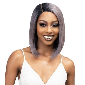 Glamourtress, wigs, weaves, braids, half wigs, full cap, hair, lace front, hair extension, nicki minaj style, Brazilian hair, crochet, hairdo, wig tape, remy hair, Janet Collection Essentials Synthetic Hair Lace Wig - CHYNA