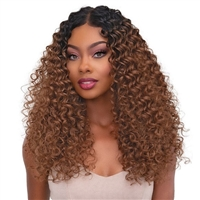 Glamourtress, wigs, weaves, braids, half wigs, full cap, hair, lace front, hair extension, nicki minaj style, Brazilian hair, crochet, hairdo, wig tape, remy hair, Janet Collection Synthetic Melt Extended Deep HD Part Lace Wig - DEE