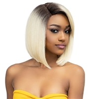 Glamourtress, wigs, weaves, braids, half wigs, full cap, hair, lace front, hair extension, nicki minaj style, Brazilian hair, crochet, hairdo, wig tape, remy hair, Janet Collection Essentials Synthetic Hair Lace Wig - KIMMIE