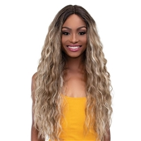 "Glamourtress, wigs, weaves, braids, half wigs, full cap, hair, lace front, hair extension, nicki minaj style, Brazilian hair, crochet, hairdo, wig tape, remy hair, Janet Collection 6"" Deep Part Color Me Lace Front Wig - MIA"
