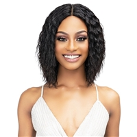 Glamourtress, wigs, weaves, braids, half wigs, full cap, hair, lace front, hair extension, nicki minaj style, Brazilian hair, crochet, hairdo, wig tape, remy hair, Janet Collection Luscious Wet & Wavy 100% Natural Virgin Remy Indian Hair Wig - RIRI