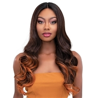 "Glamourtress, wigs, weaves, braids, half wigs, full cap, hair, lace front, hair extension, nicki minaj style, Brazilian hair, crochet, hairdo, wig tape, remy hair, Janet Collection 6"" Deep Part Color Me Lace Front Wig - SOPHIE"