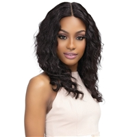Glamourtress, wigs, weaves, braids, half wigs, full cap, hair, lace front, hair extension, nicki minaj style, Brazilian hair, crochet, hairdo, wig tape, remy hair, Janet Collection Luscious Wet & Wavy 100% Natural Virgin Remy Indian Hair Lace Wig - TEYANA
