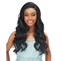 Glamourtress, wigs, weaves, braids, half wigs, full cap, hair, lace front, hair extension, nicki minaj style, Brazilian hair, crochet, hairdo, wig tape, remy hair, Janet Collection Synthetic Melt Extended Deep Part Lace Wig - ZENDAYA