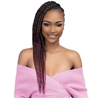Glamourtress, wigs, weaves, braids, half wigs, full cap, hair, lace front, hair extension, nicki minaj style, Brazilian hair, crochet, hairdo, wig tape, remy hair, Janet Collection Essentials 4X Pre-Stretched Braid 36""