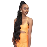 Glamourtress, wigs, weaves, braids, half wigs, full cap, hair, lace front, hair extension, nicki minaj style, Brazilian hair, crochet, hairdo, wig tape, remy hair, Lace Front Wigs, Remy Hair, Janet Collection ESSENTIALS Snatch & Wrap Ponytail - BODY 36""
