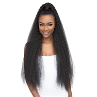 Glamourtress, wigs, weaves, braids, half wigs, full cap, hair, lace front, hair extension, nicki minaj style, Brazilian hair, crochet, hairdo, wig tape, remy hair, Lace Front Wigs, Remy Hair, Janet Collection ESSENTIALS Snatch & Wrap Ponytail - FRENCH 36""