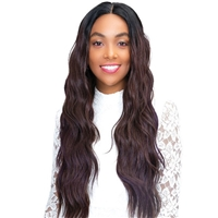 Glamourtress, wigs, weaves, braids, half wigs, full cap, hair, lace front, hair extension, nicki minaj style, Brazilian hair, crochet, hairdo, wig tape, remy hair, Lace Front Wigs, Remy Hair, Human Hair, Janet Collection Human Hair Blend Princess 4x4 Lace