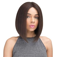 Glamourtress, wigs, weaves, braids, half wigs, full cap, hair, lace front, hair extension, nicki minaj style, Brazilian hair, crochet, hairdo, wig tape, remy hair, Janet Collection 100% Brazilian Human Hair Brazilian Scent Pre-Tweezed Wig Endal