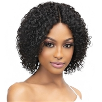 Glamourtress, wigs, weaves, braids, half wigs, full cap, hair, lace front, hair extension, nicki minaj style, Brazilian hair, crochet, hairdo, wig tape, remy hair, Janet Collection Luscious Wet & Wavy 100% Natural Virgin Remy Indian Hair Wig - ISLA