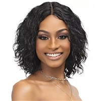 Glamourtress, wigs, weaves, braids, half wigs, full cap, hair, lace front, hair extension, nicki minaj style, Brazilian hair, crochet, hairdo, wig tape, remy hair, Janet Collection Luscious Wet & Wavy 100% Natural Virgin Remy Indian Hair Wig - KHLOE