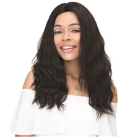 Glamourtress, wigs, weaves, braids, half wigs, full cap, hair, lace front, hair extension, nicki minaj style, Brazilian hair, crochet, hairdo, wig tape, remy hair, Janet Collection 100% Virgin Remy Human Hair Natural Deep Part Lace Wig - LAISHA 20