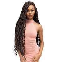Glamourtress, wigs, weaves, braids, half wigs, full cap, hair, lace front, hair extension, nicki minaj style, Brazilian hair, crochet, hairdo, wig tape, remy hair, Janet Collection Nala Tress Crochet Braids - MAVERICK LOCS 24