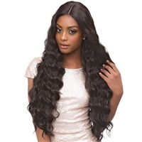 Glamourtress, wigs, weaves, braids, half wigs, full cap, hair, lace front, hair extension, nicki minaj style, Brazilian hair, crochet, hairdo, wig tape, remy hair, Lace Front Wigs, Remy Hair, Human Hair, Janet Collection Premium Fiber Extended Part Lace F