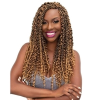 Glamourtress, wigs, weaves, braids, half wigs, full cap, hair, lace front, hair extension, nicki minaj style, Brazilian hair, crochet, hairdo, wig tape, remy hair, Janet Collection Synthetic Braid - PASSION WATER WAVE 24