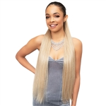Glamourtress, wigs, weaves, braids, half wigs, full cap, hair, lace front, hair extension, nicki minaj style, Brazilian hair, crochet, hairdo, wig tape, remy hair, Lace Front Wigs, Remy Hair, Janet Collection Synthetic Everytime Noir Drawstring Ponytail -