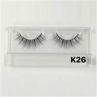 Glamourtress,eyelashes,100% human hair eyelashes, Remy, Remy Hair, Human Hair, Made in Indonesia, Human hair, Strip lashes, flare
