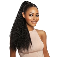 Glamourtress, wigs, weaves, braids, half wigs, full cap, hair, lace front, hair extension, nicki minaj style, Brazilian hair, crochet, hairdo, wig tape, remy hair, Lace Front Wigs, Mane Concept Synthetic Yellowtail Ponytail Closure - YTPC02 KHLOE 24