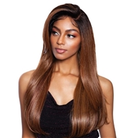 Glamourtress, wigs, weaves, braids, half wigs, full cap, hair, lace front, hair extension, nicki minaj style, Brazilian hair, crochet, hairdo, wig tape, remy hair, Mane Concept Red Carpet Synthetic Premiere Full Lace Front Wig - RCF601 MERLOT