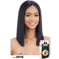 Glamourtress, wigs, weaves, braids, half wigs, full cap, hair, lace front, hair extension, nicki minaj style, Brazilian hair, crochet, hairdo, wig tape, remy hair, Lace Front Wigs, Remy Hair, Model Model 5 Inch Center Deep Lace Part Wig - EFFIE