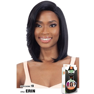 Glamourtress, wigs, weaves, braids, half wigs, full cap, hair, lace front, hair extension, nicki minaj style, Brazilian hair, crochet, hairdo, wig tape, remy hair, Lace Front Wigs, Remy Hair, Model Model 5 Inch Center Deep Lace Part Wig - ERIN