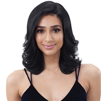 Glamourtress, wigs, weaves, braids, half wigs, full cap, hair, lace front, hair extension, nicki minaj style, Brazilian hair, crochet, hairdo, wig tape, remy hair, Lace Front Wigs, Remy Hair, Model Model 5 Inch Center Deep Lace Part Wig - EURA