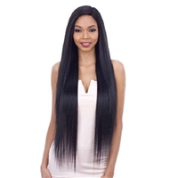 Glamourtress, wigs, weaves, braids, half wigs, full cap, hair, lace front, hair extension, nicki minaj style, Brazilian hair, crochet, hairdo, wig tape, remy hair, Lace Front Wigs, Remy Hair, Model Model Synthetic Freedom Part Lace Wig - NUMBER 204