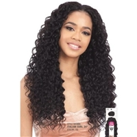"Glamourtress, wigs, weaves, braids, half wigs, full cap, hair, lace front, hair extension, nicki minaj style, Brazilian hair, crochet, hairdo, wig tape, remy hair, Lace Front Wigs, Model Model Hair Gardenia Italian Curl 24""-36"""