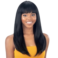 Glamourtress, wigs, weaves, braids, half wigs, full cap, hair, lace front, hair extension, nicki minaj style, Brazilian hair, crochet, hairdo, wig tape, remy hair, Lace Front Wigs, Model Model Synthetic Wig - KLIO KL-015
