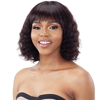 Glamourtress, wigs, weaves, braids, half wigs, full cap, hair, lace front, hair extension, nicki minaj style, Brazilian hair, crochet, hairdo, wig tape, remy hair, Lace Front Wigs, Model Model Nude Air Brazilian Natural Human Hair Wig - DINA