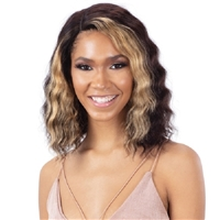 "Glamourtress, wigs, weaves, braids, half wigs, full cap, hair, lace front, hair extension, nicki minaj style, Brazilian hair, crochet, hairdo, wig tape, remy hair, Lace Front Wigs, Model Model Nude Brazilian Natural Human Hair 5"" Lace Part Wig - BRIELLE"