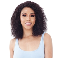 "Glamourtress, wigs, weaves, braids, half wigs, full cap, hair, lace front, hair extension, nicki minaj style, Brazilian hair, crochet, hairdo, wig tape, remy hair, Lace Front Wigs, Model Model Nude Brazilian Natural Human Hair 5"" Lace Part Wig - RENELL"