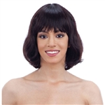 Glamourtress, wigs, weaves, braids, half wigs, full cap, hair, lace front, hair extension, nicki minaj style, Brazilian hair, crochet, hairdo, wig tape, remy hair, Lace Front Wigs, Model Model Nude 100% Brazilian Natural Human Hair Premium Wig - ARI