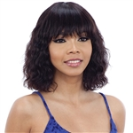 Glamourtress, wigs, weaves, braids, half wigs, full cap, hair, lace front, hair extension, nicki minaj style, Brazilian hair, crochet, hairdo, wig tape, remy hair, Lace Front Wigs, Model Model Nude 100% Brazilian Natural Human Hair Wig - KYLIE