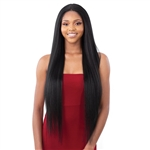 Glamourtress, wigs, weaves, braids, half wigs, full cap, hair, lace front, hair extension, nicki minaj style, Brazilian hair, crochet, hairdo, wig tape, remy hair, Lace Front Wigs, Remy Hair, Model Model Premium Synthetic Mint Lace Front Wig - ML 01