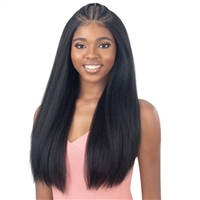 Glamourtress, wigs, weaves, braids, half wigs, full cap, hair, lace front, hair extension, nicki minaj style, Brazilian hair, crochet, hairdo, wig tape, remy hair, Lace Front Wigs, Remy Hair, Model Model Synthetic Styled Braid 13x6 Lace Wig - CHAYLYN