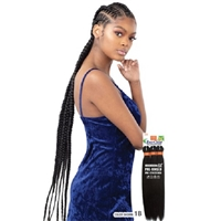 Glamourtress, wigs, weaves, braids, half wigs, full cap, hair, lace front, hair extension, nicki minaj style, Brazilian hair, crochet, hairdo, wig tape, remy hair, Lace Front Wigs, Model Model Pre-Stretched Synthetic Braid - 3X EVERCLEAR 52