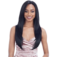 Glamourtress, wigs, weaves, braids, half wigs, full cap, hair, lace front, hair extension, nicki minaj style, Brazilian hair, crochet, hairdo, wig tape, remy hair, Lace Front Wigs, Remy Hair, Model Model Synthetic Hair Elite Whole Lace Wig - EL 001