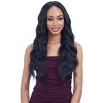 Glamourtress, wigs, weaves, braids, half wigs, full cap, hair, lace front, hair extension, nicki minaj style, Brazilian hair, crochet, hairdo, wig tape, remy hair, Lace Front Wigs, Remy Hair, Model Model Synthetic Hair Elite Whole Lace Wig - EL 002
