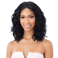 Glamourtress, wigs, weaves, braids, half wigs, full cap, hair, lace front, hair extension, nicki minaj style, Brazilian hair, crochet, hairdo, wig tape, remy hair, Lace Front Wigs, Remy Hair, Model Model Synthetic Hair Klio Lace Front Wig - KLW 060