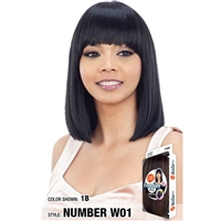 Glamourtress, wigs, weaves, braids, half wigs, full cap, hair, lace front, hair extension, nicki minaj style, Brazilian hair, crochet, hairdo, wig tape, remy hair, Lace Front Wigs, Remy Hair, Model Model Synthetic Hair Wig - Freedom Part W01
