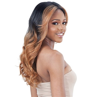 Glamourtress, wigs, weaves, braids, half wigs, full cap, hair, lace front, hair extension, nicki minaj style, Brazilian hair, crochet, hairdo, wig tape, remy hair, Lace Front Wigs, Remy Hair, Model Model Synthetic Lace Front Wig - EDGES ON POINT 705