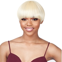 Glamourtress, wigs, weaves, braids, half wigs, full cap, hair, lace front, hair extension, nicki minaj style, Brazilian hair, crochet, hairdo, wig tape, remy hair, Lace Front Wigs, Model Model Synthetic Mint Wig M01