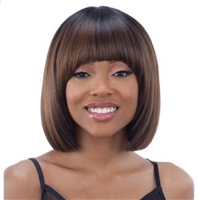 Glamourtress, wigs, weaves, braids, half wigs, full cap, hair, lace front, hair extension, nicki minaj style, Brazilian hair, crochet, hairdo, wig tape, remy hair, Lace Front Wigs, Remy Hair, Human Hair, Model Model Synthetic Wig Clean Cap Number 17