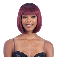 Glamourtress, wigs, weaves, braids, half wigs, full cap, hair, lace front, hair extension, nicki minaj style, Brazilian hair, crochet, hairdo, wig tape, remy hair, Lace Front Wigs, Remy Hair, Human Hair, Model Model Synthetic Wig Clean Cap Number 19