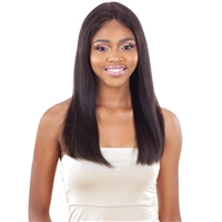 Glamourtress, wigs, weaves, braids, half wigs, full cap, hair, lace front, hair extension, nicki minaj style, Brazilian hair, crochet, hairdo, wig tape, remy hair, Lace Front Wigs, Model Model Galleria 100% Virgin Human Hair Lace Front Wig ST22