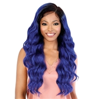 Glamourtress, wigs, weaves, braids, half wigs, full cap, hair, lace front, hair extension, nicki minaj style, Brazilian hair, crochet, hairdo, wig tape, remy hair, Lace Front Wigs, Motown Tress Synthetic Hair HD Invisible 13X7 Lace Wig - LS137 AUDI